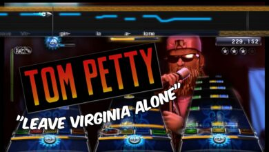 "Photo of Tom Petty's ""Leave Virginia Alone"""