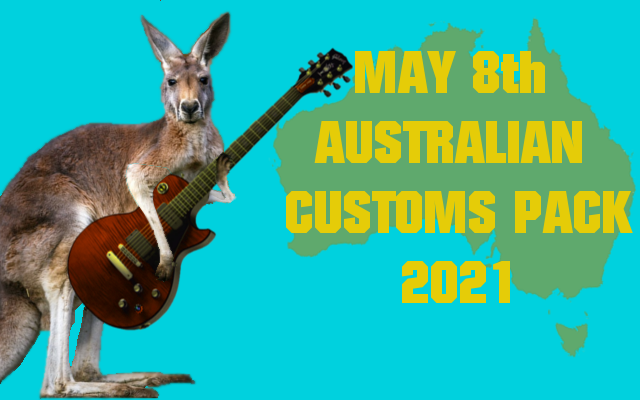 May 8th Australian Customs Pack